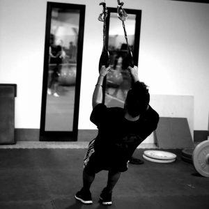 Ragazzo in allenamento con pesi presso il Centro Sportivo Flaminia Sette